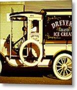 Ice Cream Truck Metal Print