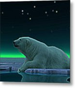 Ice Edge Metal Print