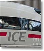 Ice Germany Metal Print