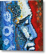 Ice Man Metal Print