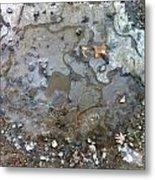 Ice On The Rocks Metal Print