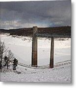 Ice Tower Catwalk Metal Print