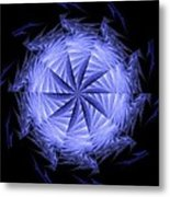 Ice Wheel Metal Print