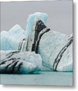 Icebergs Metal Print
