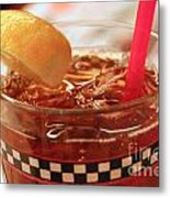 Iced Tea Metal Print