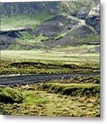 Icelandic Landscape Metal Print