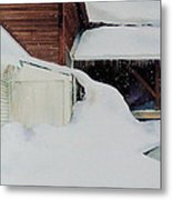 Icicles Metal Print