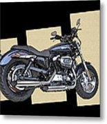 Iconic Harley Davidson Metal Print