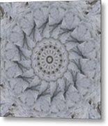 Icy Mandala 1 Metal Print