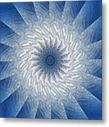 Icy Mandala 7 Metal Print