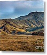 Idaho Foothills Metal Print