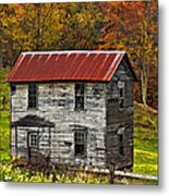 If These Walls Could Talk Painted Metal Print
