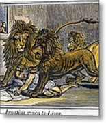 Ignatius Of Antioch (c35-110) Metal Print