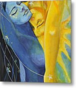Ilusion From Impossible Love Series Metal Print by Dorina  Costras