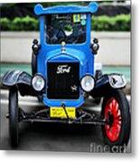 I'm Cute - 1922 Model T Ford Metal Print