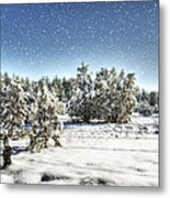 I'm Dreaming Of A White Christmas  Metal Print