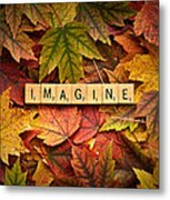Imagine-autumn Metal Print