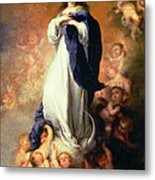 Immaculate Conception Of The Escorial Metal Print