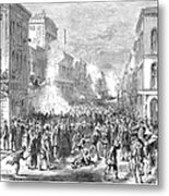 Immigrants: Chinese, 1871 Metal Print by Granger