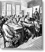 Immigrants: Chinese, 1876 Metal Print