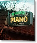 Immortal Piano Co Metal Print