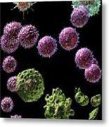 Immune Response Cytotoxic 2 Metal Print