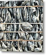 Impenetrable  Metal Print