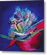 Impression Of Flowers Metal Print