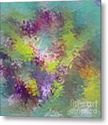 Impressionistic Abstract Metal Print