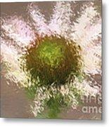 Impressionistic Echinacea Metal Print