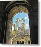 In A Monastery  Metal Print
