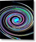 In A Whirl Metal Print