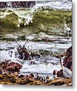 In-coming Tide Metal Print