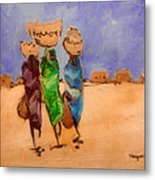 in Darfur 2 Metal Print by Negoud Dahab