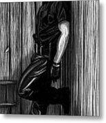 In Dark Alleys Metal Print by Brent  Marr