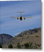 In For A Landing Metal Print