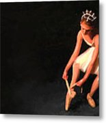 In Her Shoes . . . Metal Print