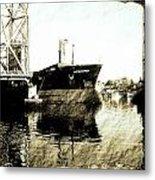 In Portsmouth Harbor Metal Print