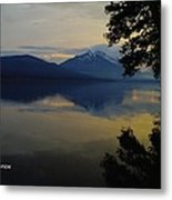 In The Calm Metal Print