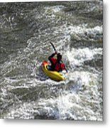 In The Channel Metal Print