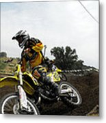 In The Chase Metal Print