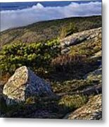 In The Clouds At Cadillac Metal Print