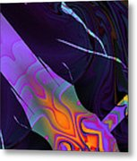 In The Colors Shadow Metal Print