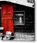 In The Goat House Metal Print
