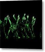 In The Green Light Metal Print