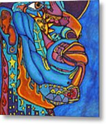 In The Grip Of The Blues Metal Print