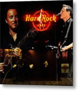 In The Hard Rock Cafe Metal Print