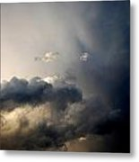 In The Midst Of The Clouds Metal Print