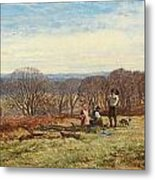 In The New Forest Metal Print