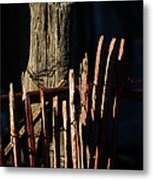 In The Shadow Of The Past Metal Print